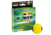 Плетеный шнур POWER PRO HI-VIS YELLOW 92м. 0.19мм. фото №1