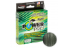 Плетеный шнур POWER PRO MOSS GREEN 92м. 0.13мм. фото №1