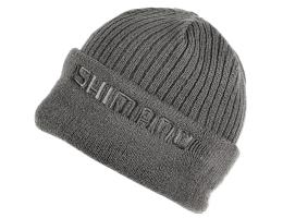 Шапка Shimano Fleece Knit BREATHHYPE GREY