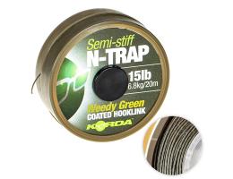 Поводковый материал KORDA N Trap Semi Weedy Green 15lb KNT04