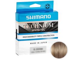 Леска SHIMANO TECHNIUM INVISITEC 150м. 0.355мм. GRAY