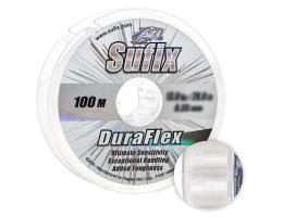 Леска Sufix Duraflex 100м. 0.14мм. CLEAR