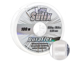 Леска SUFIX DURAFLEX 100м. 0.22мм. CLEAR