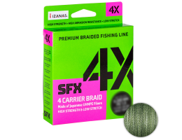 Плетеный шнур Sufix Sfx Braid X4 135м. 0.128мм. Green