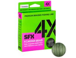 Плетеный шнур Sufix Sfx Braid X4 135м. 0.285мм. Green