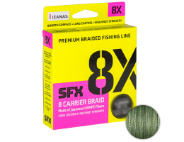 Плетеный шнур Sufix Sfx Braid X8 135м. 0.185мм. Green