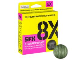 Плетеный шнур Sufix Sfx Braid X8 135м. 0.205мм. Green