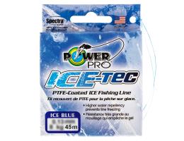 Зимний шнур POWER PRO ICE TEC 45м. 0.19мм. BLUE