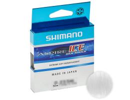 Зимняя SHIMANO ASPIRE SILK S ICE 50м. 0.18мм. CLEAR