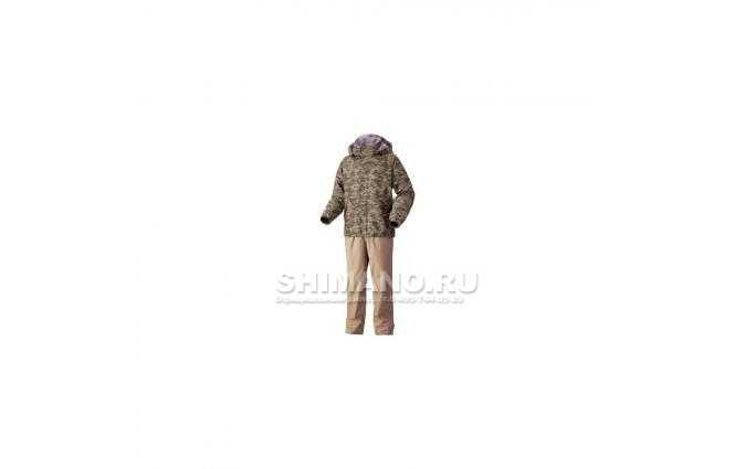 Костюм Shimano Nexus Dryshield Ra027m бежевый хаки / 140 см. фото №1