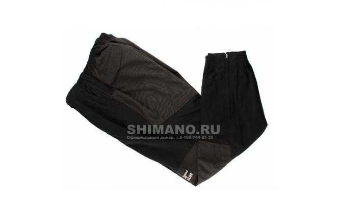 Брюки SHIMANO NEXUS PA-11 AB кевлар Цв.черный LL фото №1