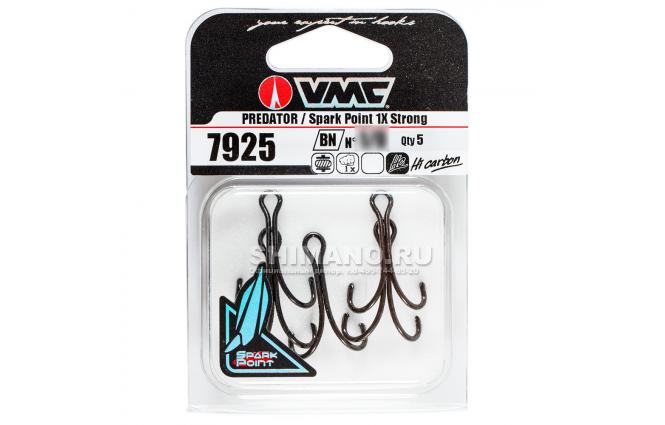 Крючки VMC 7925 BN №1 фото №2