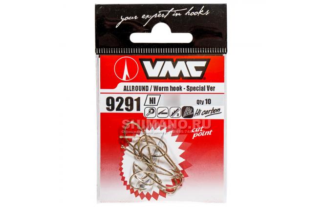 Крючки Vmc 9291 Ni 6/0 фото №2