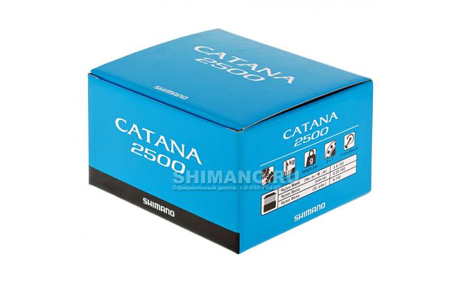 Катушка Shimano Catana 2500FD фото №9