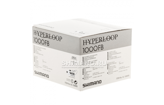 Катушка безынерционная SHIMANO HYPERLOOP 1000FB фото №9