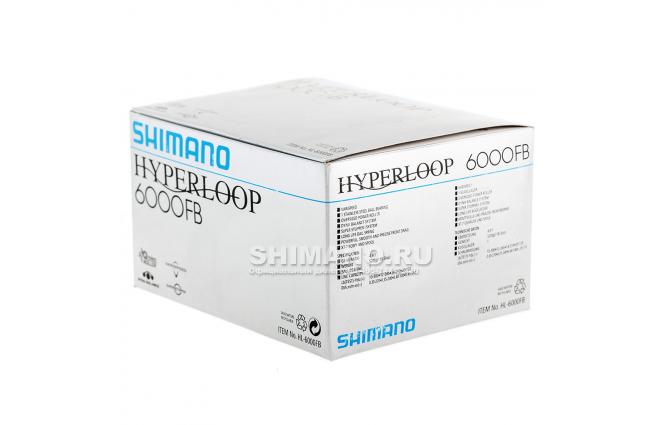 Катушка безынерционная SHIMANO HYPERLOOP 6000FB фото №9
