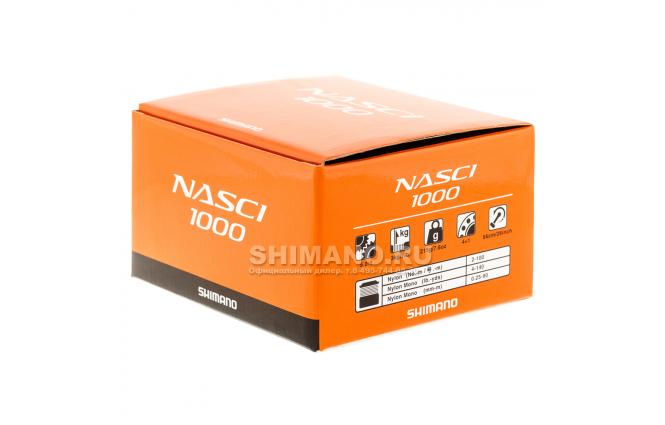 Катушка безынерционная SHIMANO NASCI 1000 FB фото №9