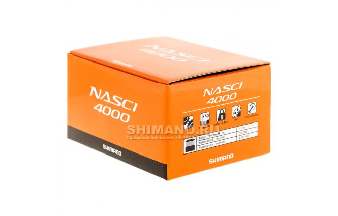 Катушка безынерционная SHIMANO NASCI 4000 FB фото №9