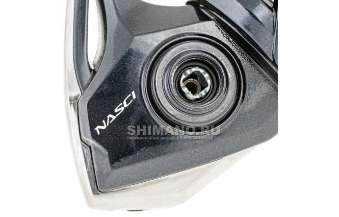 Катушка безынерционная SHIMANO NASCI 4000 FB фото №4