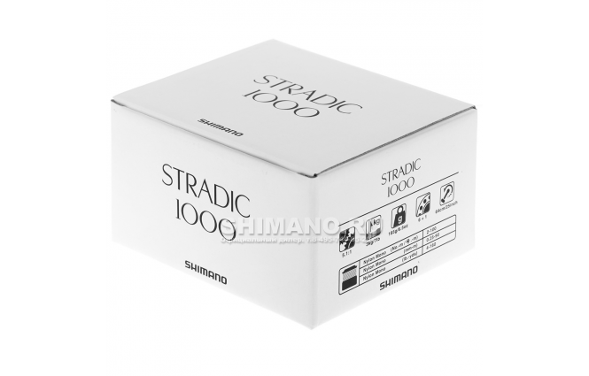 Катушка безынерционная SHIMANO STRADIC 1000FL фото №9