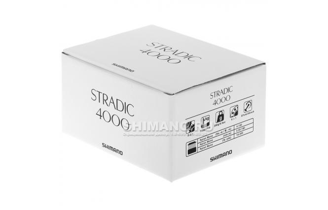 Катушка безынерционная SHIMANO STRADIC 4000FL фото №9