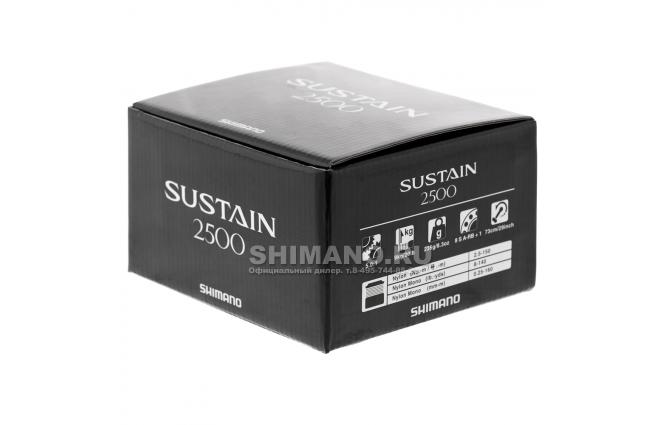Катушка безынерционная SHIMANO SUSTAIN 2500 FI фото №9