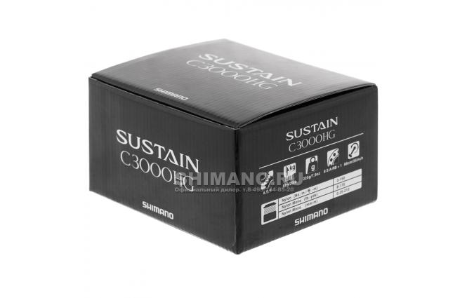 Катушка безынерционная SHIMANO SUSTAIN C3000 HGFI фото №9