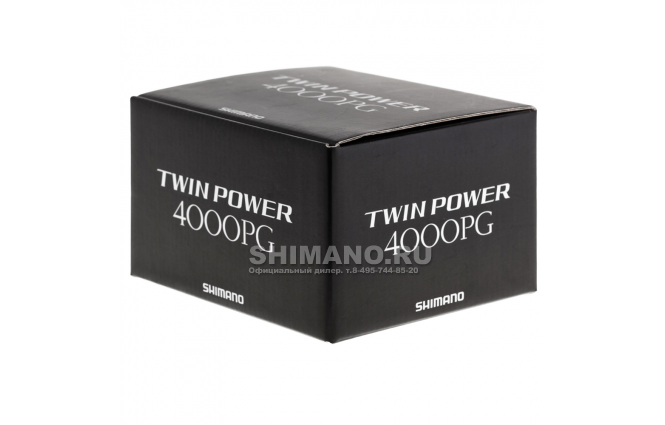 Катушка безынерционная SHIMANO TWIN POWER 15 4000PG + доп. шпуля в подарок! фото №9