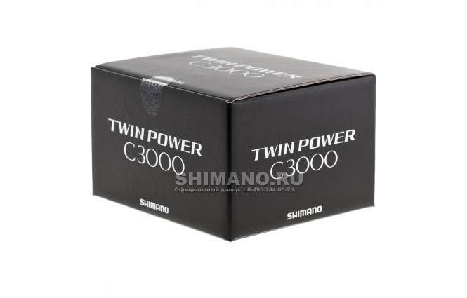 Катушка безынерционная SHIMANO TWIN POWER 15 C3000 фото №9
