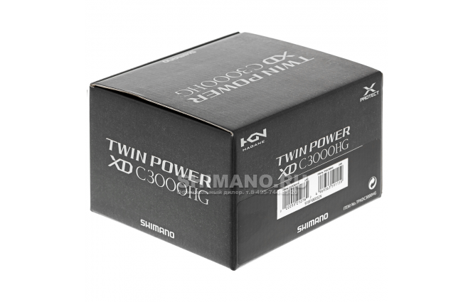 Катушка безынерционная Shimano Twin Power XD C3000HG фото №9