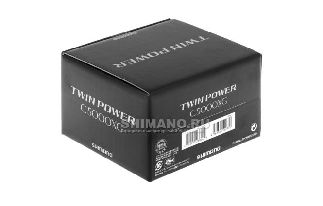 Катушка безынерционная SHIMANO Twin Power FD C5000XG фото №9