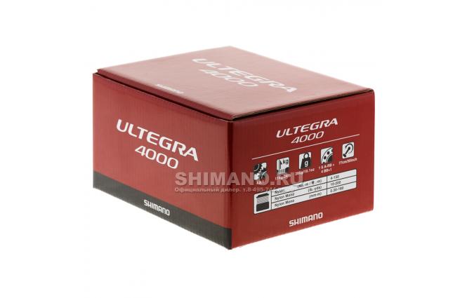 Катушка безынерционная SHIMANO ULTEGRA 4000FB фото №9