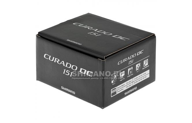 Катушка мультипликаторная SHIMANO CURADO DC 151 (LH) фото №8