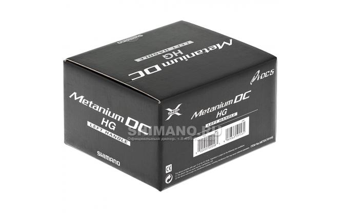 Катушка мультипликаторная Shimano Metanium DC 101HG (LH) фото №8
