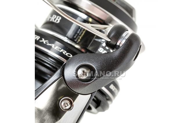 Катушка с байтраннером Shimano Baitrunner X Aero 4000 FA фото №3