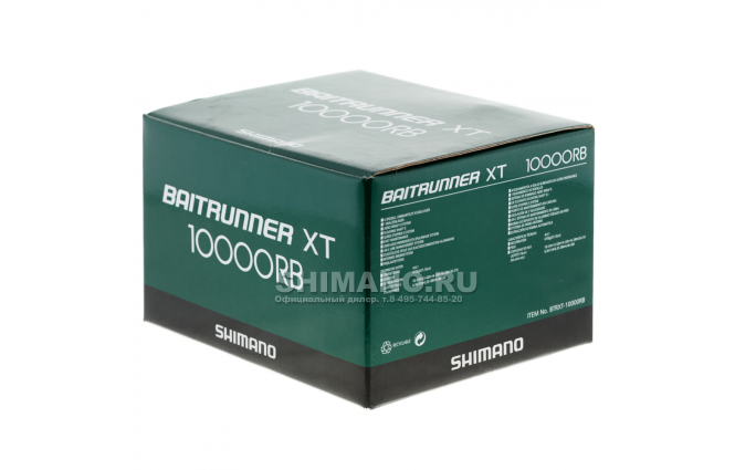 Катушка с байтраннером SHIMANO BAITRUNNER XT 10000 RB фото №10