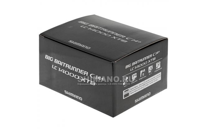 Катушка с байтраннером Shimano Baitrunner Ci4 LC 14000 XTB фото №11