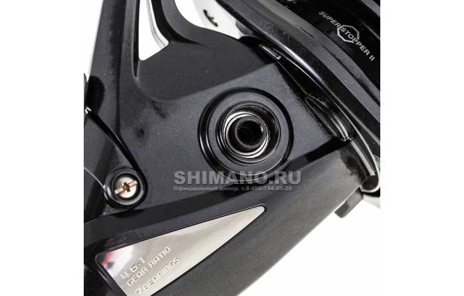 Катушка с байтраннером SHIMANO BIG BAITRUNNER CI4 XTR-A LC фото №4