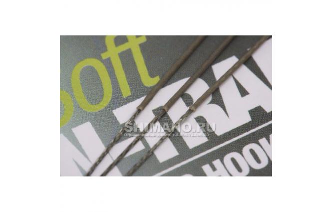 Поводковый материал KORDA N Trap Soft Silt 15lb KNT19 фото №10