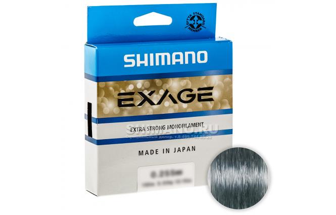 Леска SHIMANO EXAGE 150м. 0.205мм. CLEAR фото №1