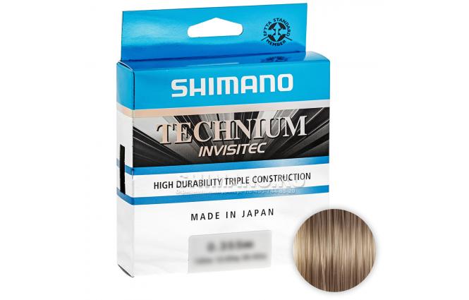 Леска SHIMANO TECHNIUM INVISITEC 150м. 0.355мм. GRAY фото №1