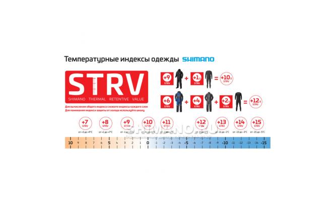 Костюм Shimano Nexus Gore-tex Ra-061h Серебро 3L фото №18