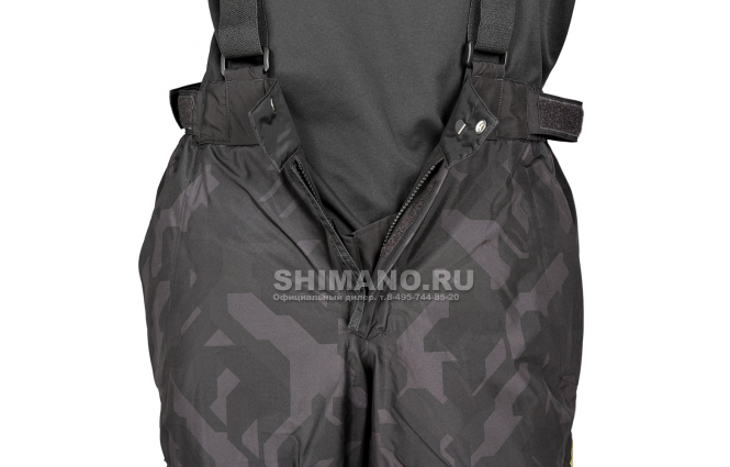 Костюм Shimano Nexus Gore-tex Rb-119t rock black L фото №10
