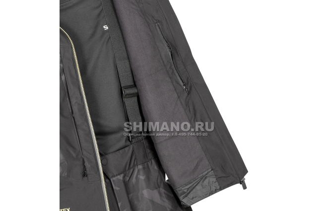 Костюм Shimano Nexus Gore-tex Rb-119t rock black XL фото №9