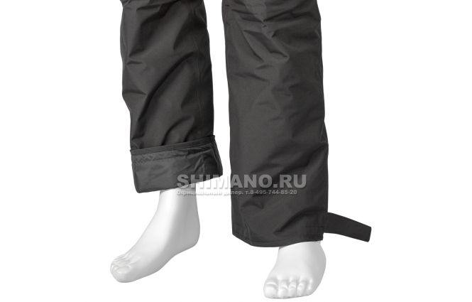 Костюм Shimano Nexus Gore-tex Rb-119t rock black XL фото №11