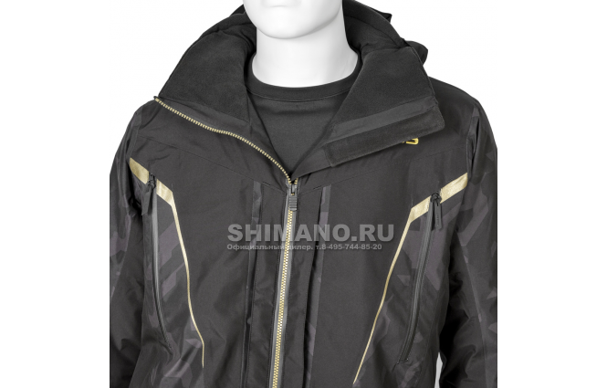 Костюм Shimano Nexus Gore-tex Rb-119t rock black XL фото №4