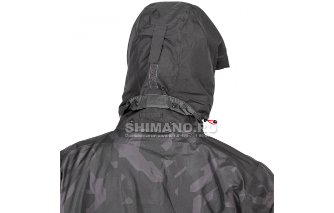 Костюм Shimano Nexus Gore-tex Rb-119t rock black XL фото №7