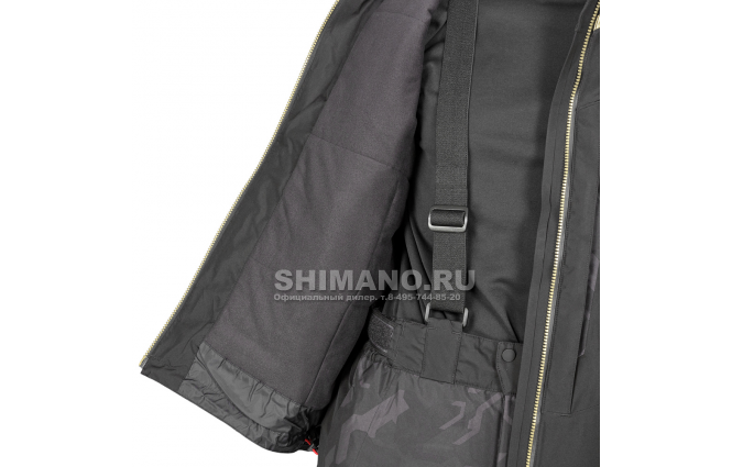 Костюм Shimano Nexus Gore-tex Rb-119t rock black XL фото №8