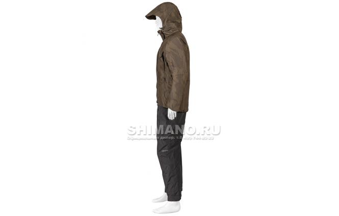 Костюм Shimano Rb-017t Gore-tex EU-L/ JP-LL Коричневый камуфляж фото №3
