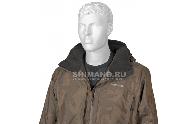 Костюм Shimano Rb-017t Gore-tex EU-L/ JP-LL Коричневый камуфляж фото №4